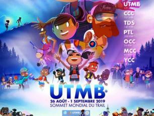 affiche UTMB® 2019, créé par Matthieu Forichon, trouvé sur @ utmbmontblanc.com