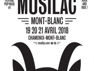 Poster Musilac Mont-Blanc 2018