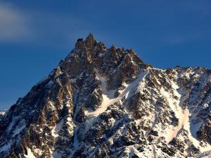 Aiguille du Midi in Chamonix Alpes