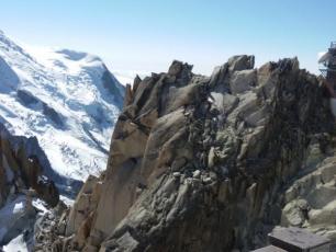 Aiguille du Midi landscape