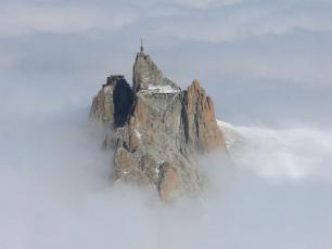 The Aiguille du Midi Summit (3842m)