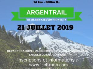 Affiche officielle Argentrail 2019
