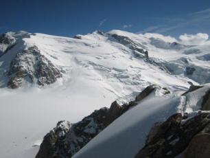 Avalanche au Mont Blanc du Tacul