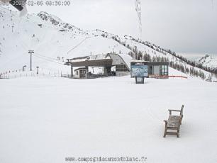 Bochard Gondola in Grands Montets, Argentière, Chamonix Valley