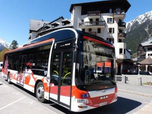 Chamonix valley bus