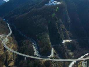 Route Blanche viaduct, photo source @www.atmb.com
