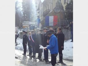 Anniversary Ceremony for Chamonix PGHM. Photo source: @ledauphine.com