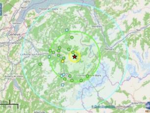 Chamonix: séisme de 3,7 sur l'échelle de Richter