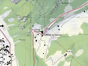 Le col de la Forclaz. Photo source: @map.geo.admin.ch