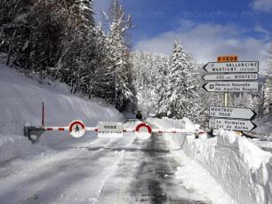 La route du Col des Montets