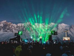 The Chamonix Unlimited Festival. Photo source: @www.touslesfestivals.com