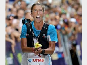 The American Courtney Dauwalter came first in the women category. photo source @ledauphine.com