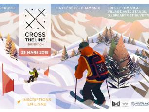 Cross the Line, first edition poster, found on https://www.facebook.com/events/805215689841593/