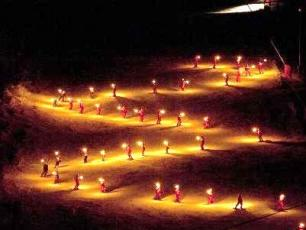 ESF Torchlight Descent in Chamonix