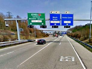 Exit from Tunnel de Vernier