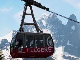FLÉGÈRE CABLE CAR, source photo @ chamonix.com