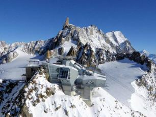 Skyway Monte Bianco Cable Car Chamonix Net