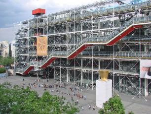Le Centre Georges Pompidou (Paris) designed by Renzo Piano, photo author Jean-Pierre Dalbéra, licensed under CC BY-SA 2.0, photo source @flickr.com