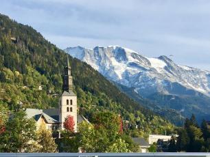 Saint-Gervais-les-Bains, commune où se trouve la plus haute distillerie d'Europe.