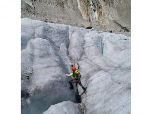 Glacier - Mont Blanc, Chamonix