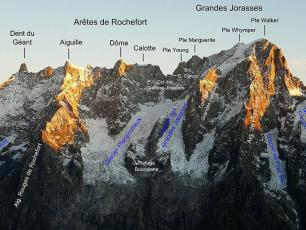 Grandes Jorasses - South face with labels. Christian / CC BY-SA 2.0 FR (https://creativecommons.org/licenses/by-sa/2.0/fr/deed.en)