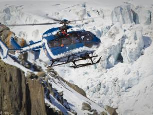 L'hélicoptère du PGHM