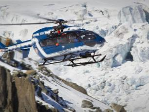 Chamonix PGHM helicopter