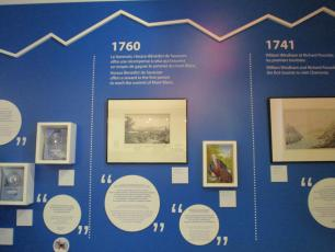 History of the alpinistes in Mont-Blanc