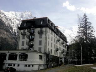 La Folie Douce s'installera dans le palace Le Savoy. Photo source: @ledauphine.com