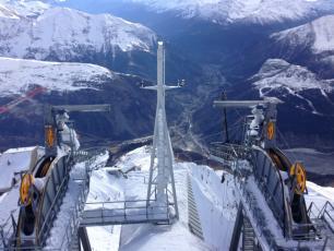Le nouveau système de téléphérique Funivie del Monte Bianco