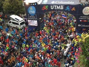 UTMB 2018. Photo source: @france3.fr
