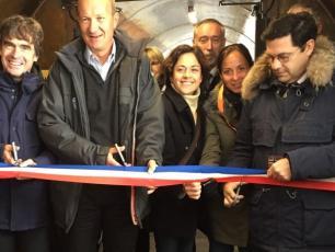 Inauguration Le Tube Photo source @2016 Radio Mont Blanc