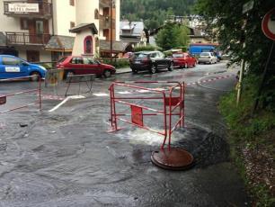 Inondation à Chamonix 2018