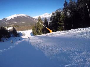 The Kandahar Ski World Cup in Les Houches, Chamonix Valley