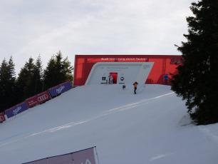 The Kandahar Ski World Cup in Les Houches, Chamonix Valley