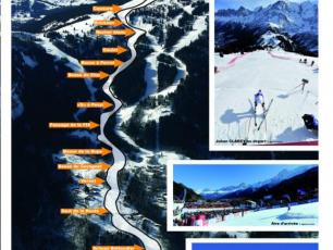 World Cup of Alpin Ski Kandahar Chamonix poster