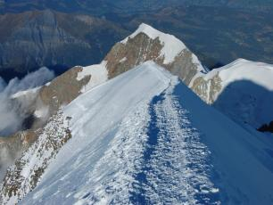 The Mont-Blanc summit
