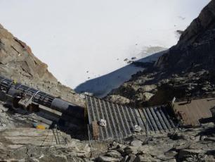 Attraction touristique Le Tube Aiguille du Midi à Chamonix