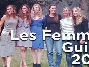 High Mountain Guide Females 2017: Lise Billon, Fanny Schmutz, Fleur Fouque, Julia Virat, Vérane Bonneuil, Marine Clarys. Photo source: @www.tvmountain.com