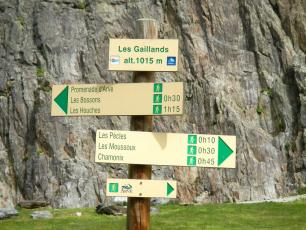 Les Gaillands is known as an accessible place, well-suited for beginners and families