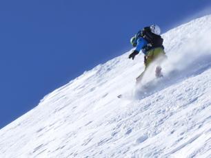 Mont-Blanc traverse. Photo Credits: P. Arpin, D. Deschamps, B. Delapierre, F. Bernard