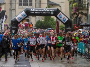 Marathon du Mont-Blanc. Source de la photo: @ montblancmarathon.net