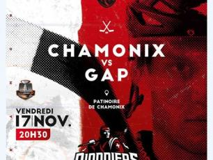 Upcoming match in Chamonix: Friday 17th November 2017 from 8:30pm, at the Richard Bozon Ice Rink. Chamonix vs Gap