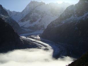 La Mer de Glace Mont Blanc