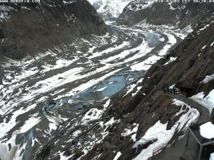 Mer de Glace is rapidly shrinking, photo taken on 3 February 2020, photo source @facebook.com/layauteendirect