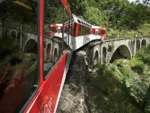 The Mont-Blanc Express Train