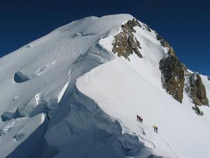 Mont Blanc continues to shrink
