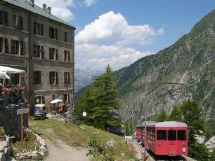 Montenvers Train in Chamonix-Mont-Blanc