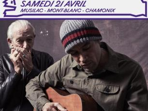 Ben Harper & Charlie Musselwhite will be on stage of the Musilac Mont-BLanc at the Bois de Bouchet for a single date: Saturday 21st April 2018! Photo source: @mont-blanc.musilac.com