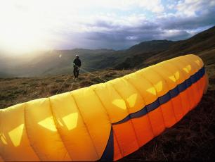 Chamonix Paragliding - Brevent Take Off
